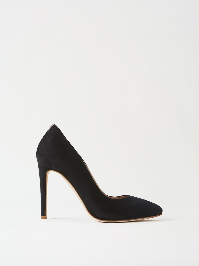 Mavette Milano Pump Black Side View
