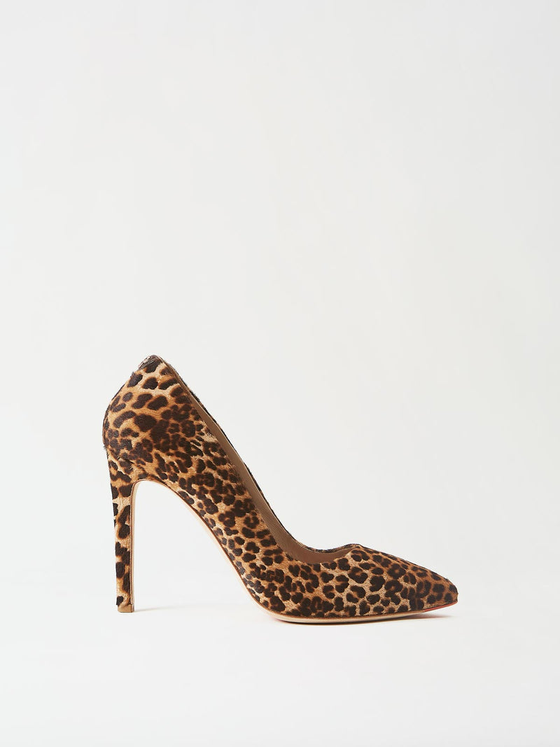 Mavette Milano Pump Leopard Side View