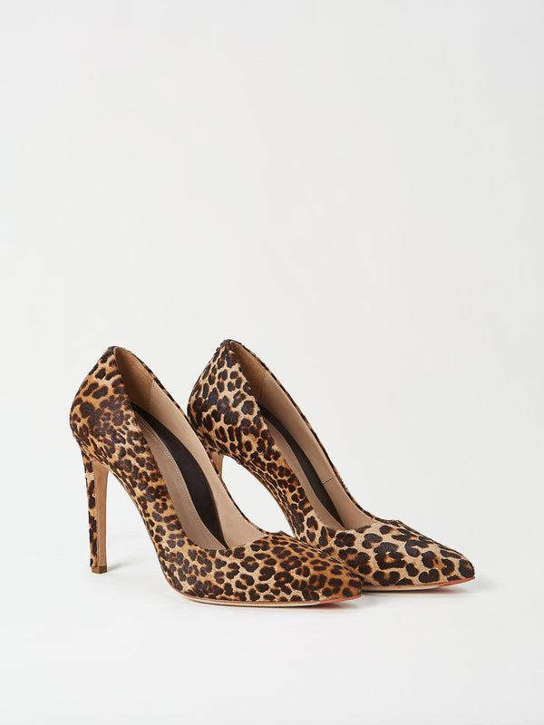 A Pair of Mavette Milano Pumps Leopard Side-Front View