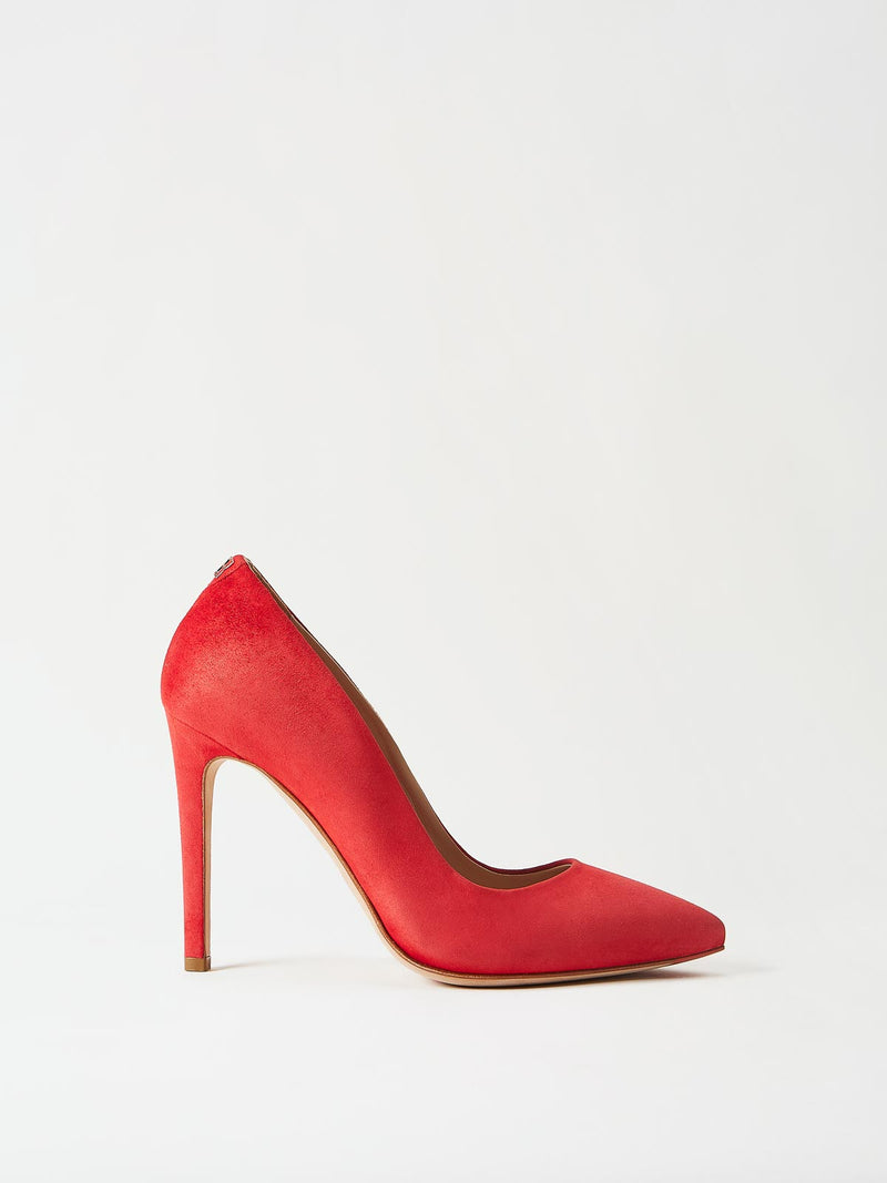 Mavette Milano Pump Red Side View