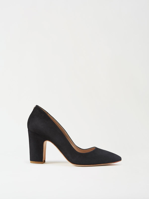 Mavette Sarnico Pump Black Side View