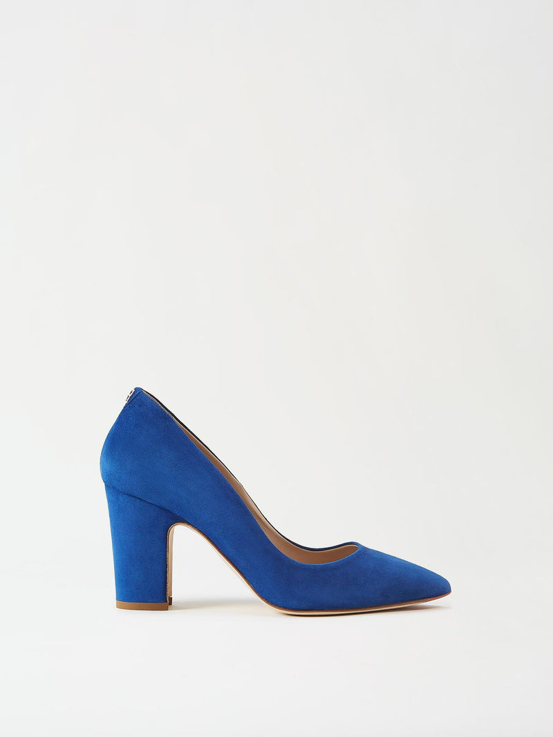 Mavette Sarnico Pump Blue Side View