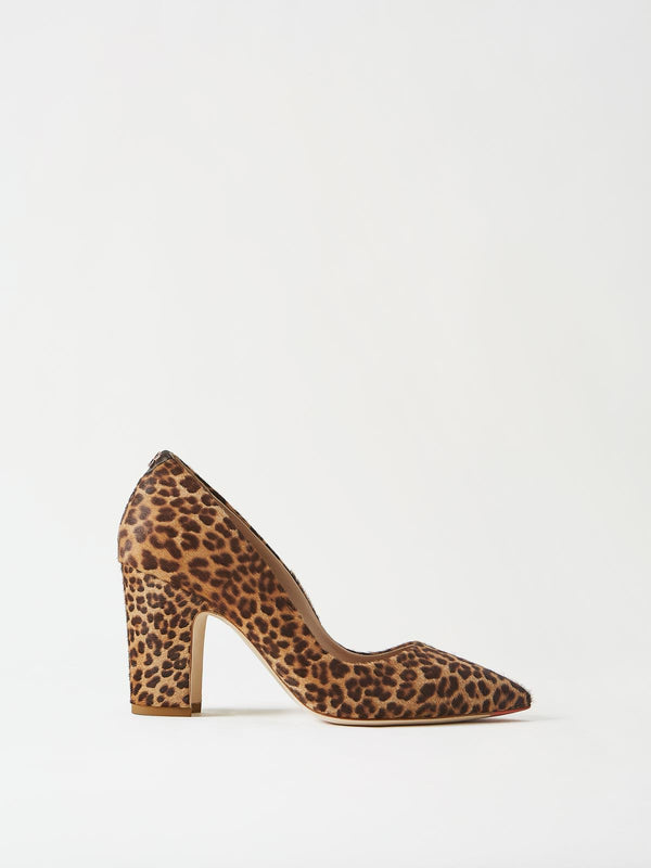 Mavette Sarnico Pump Leopard Side View