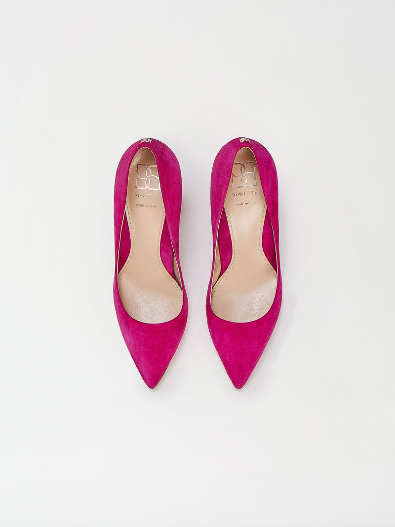 A Pair of Mavette Sarnico Pumps Pink Top View