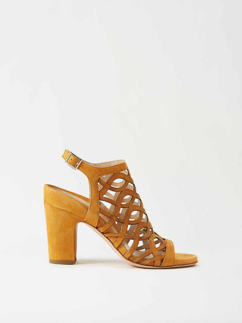 Mavette Scilla Sandal Tan Side View