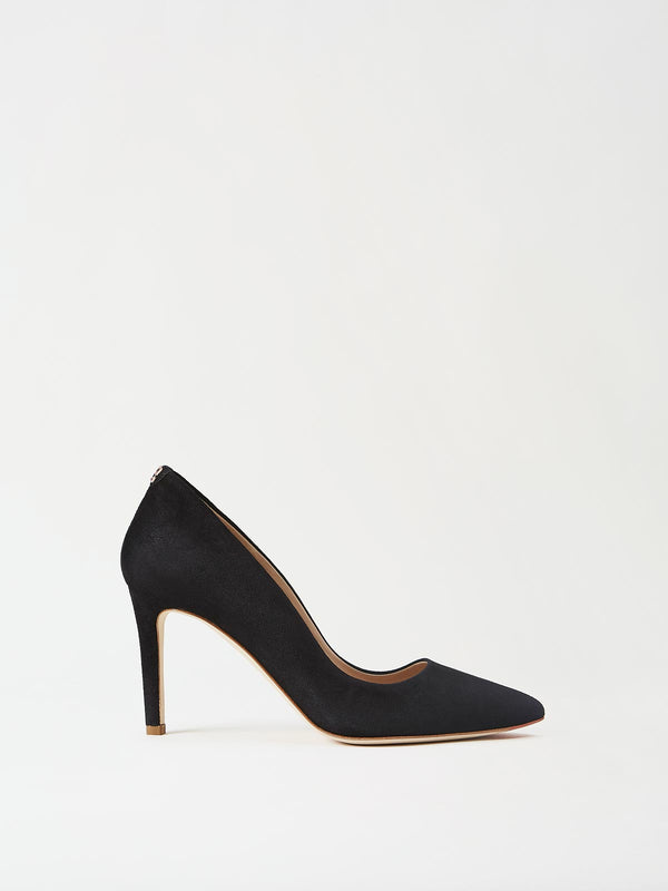 Mavette Siena Pump Black Side View