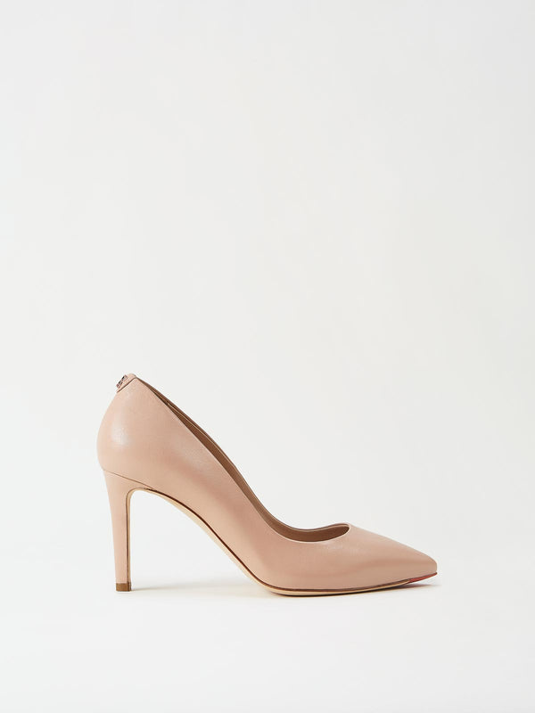 Mavette Siena Pump Nude Side View