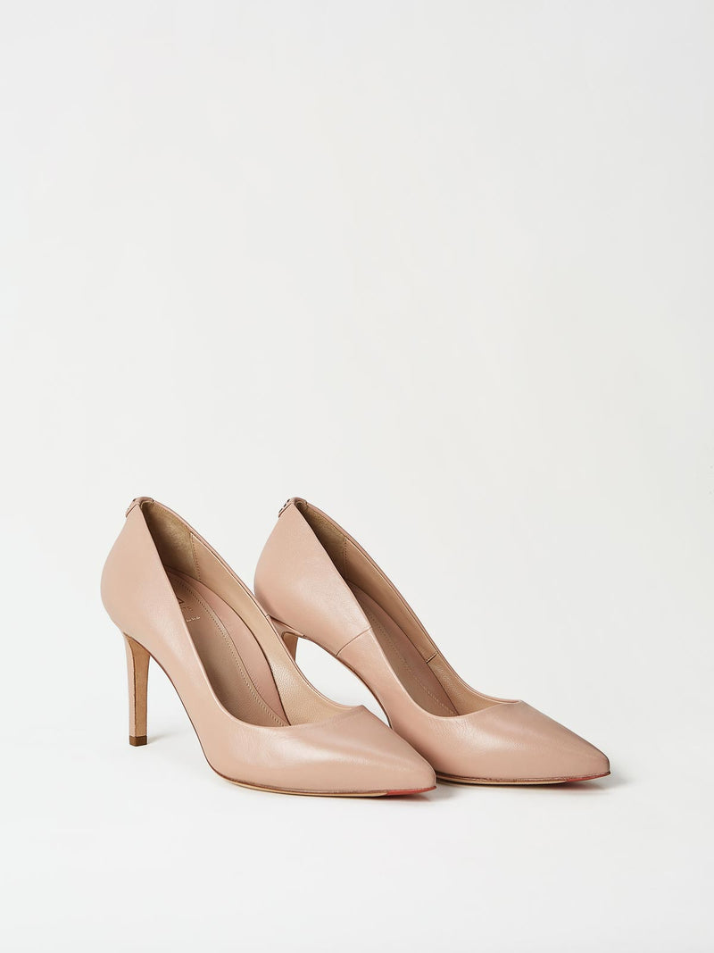 A Pair of Mavette Siena Pump Nude Side-Front View