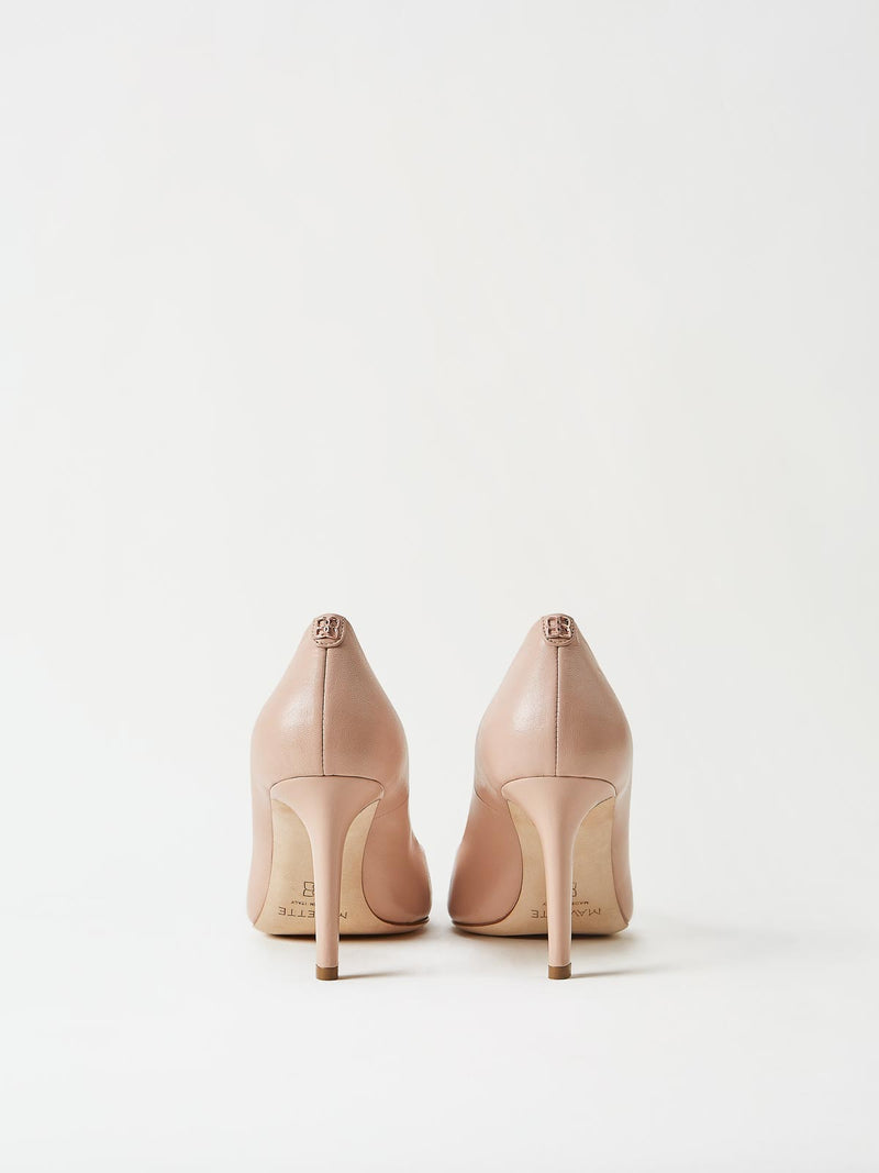 A Pair of Mavette Siena Pump Nude Back View
