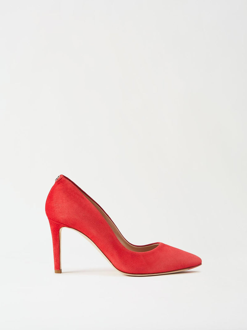 Mavette Siena Pump Red Side View