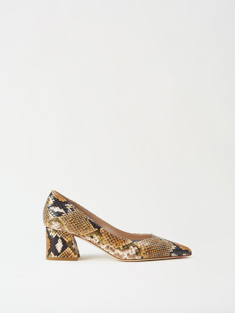 Mavette Sorella Pump Snake Side View