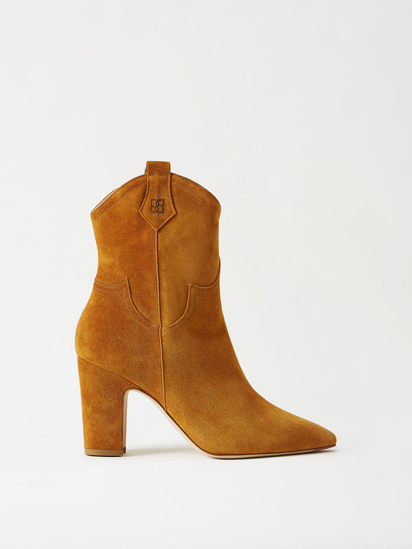 Mavette Stella Boot Tan Side View