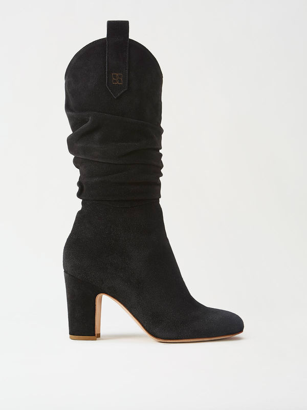 Mavette Vittoria Boots Black Side View