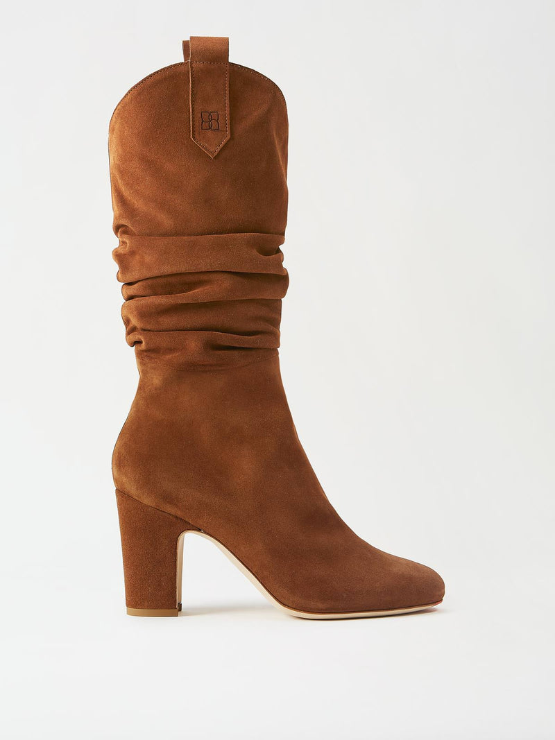 Mavette Vittoria Boots Brown Side View