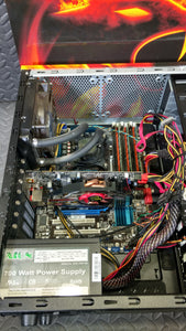 IBuyPower Custom Build Intel i7-930 6GB RAM Windows 7 Home Premium COA - AsIsStuff