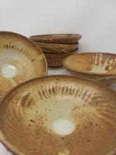 Hand Made Ceramic Stoneware Pottery Bowl Earthy Sand Glaze High Quality - AsIsStuff