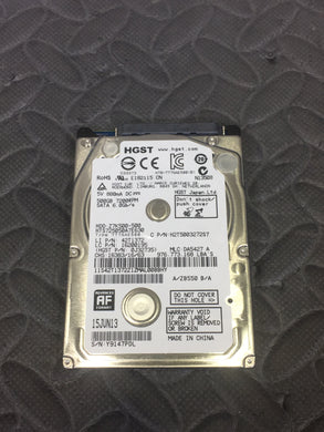 "HGST HTS725050A7E630 2.5"" SATA 7200RPM 32MB Cache 500GB HDD Tested Good! - AsIsStuff"