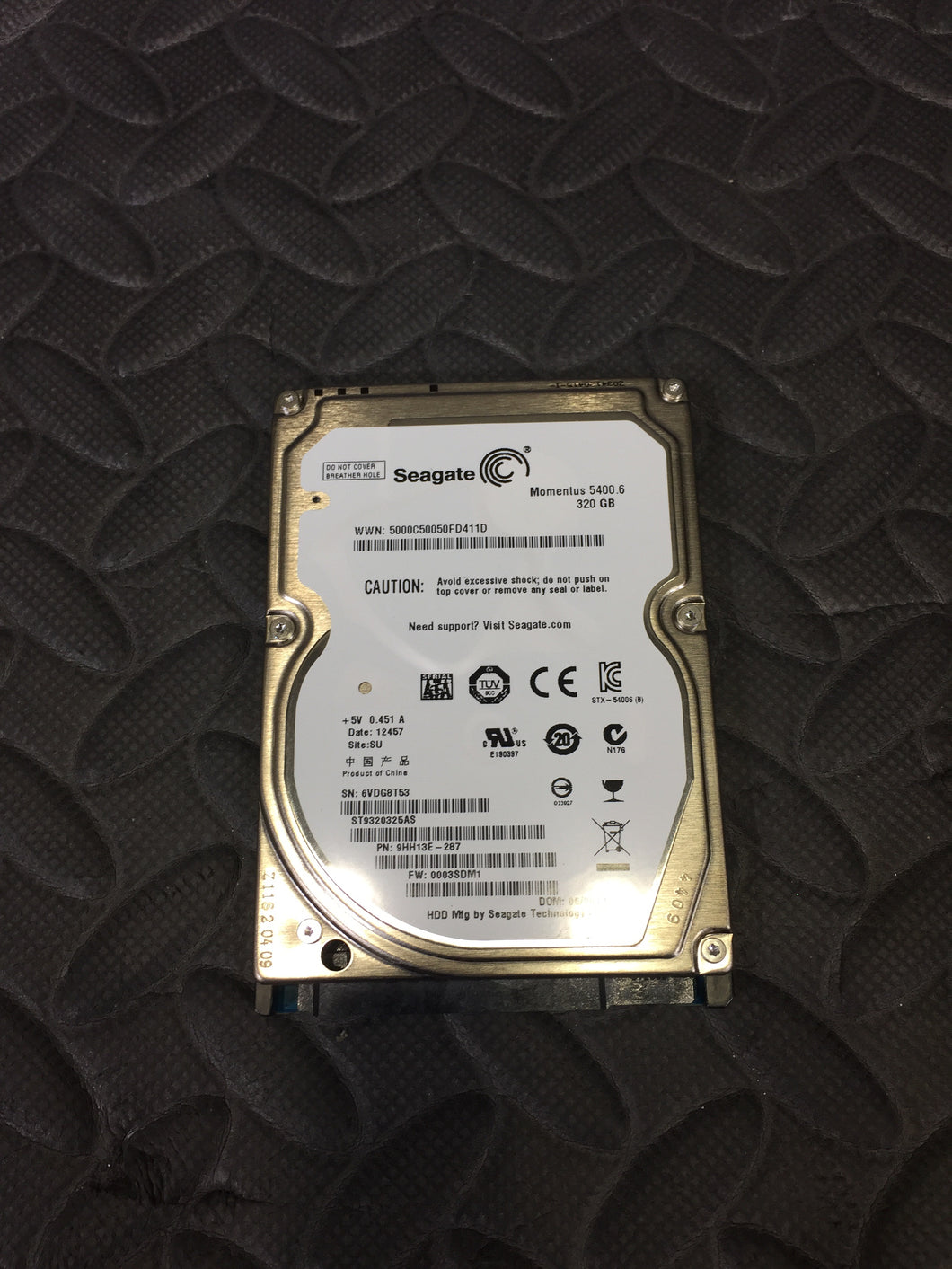 Seagate Momentus ST9320325AS 2.5