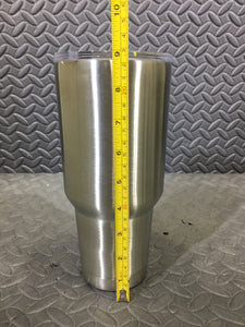 Pure 30oz Stainless Steel Triple Walled Vacuum Sealed Tumbler - AsIsStuff