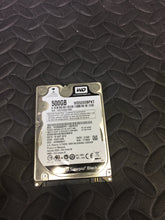 "Western Digital WD5000BPKT 2.5"" SATA 16MB Cache 7200RPM 500GB HDD Tested Good! - AsIsStuff"