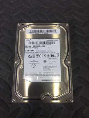 "Samsung ST1000DL004 3.5"" SATA 5400RPM 32MB Cache 1 TB HDD Tested Good! - AsIsStuff"