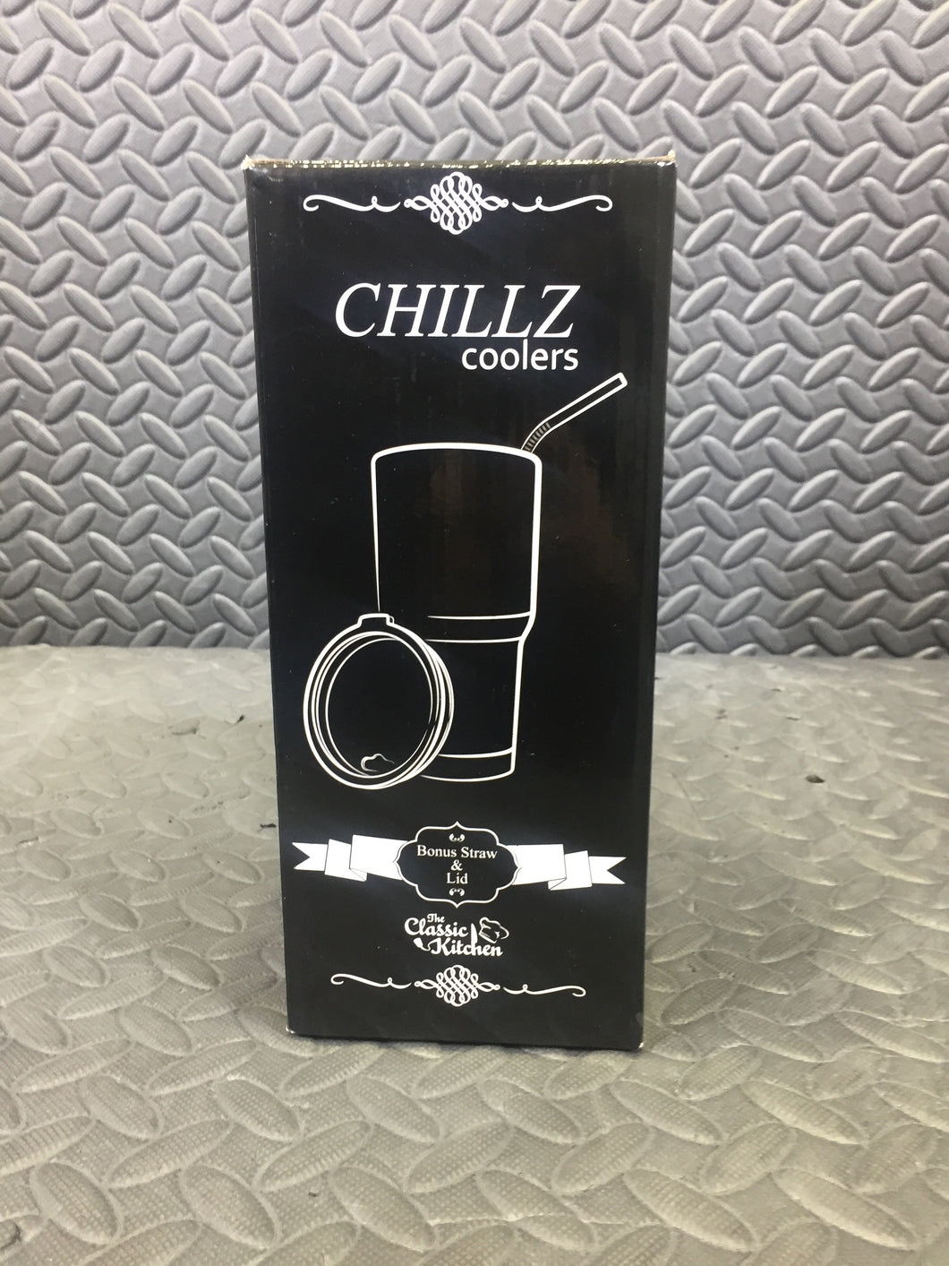 Chillz 30oz Double Wall Insulated Stainless Steel Tumbler - AsIsStuff