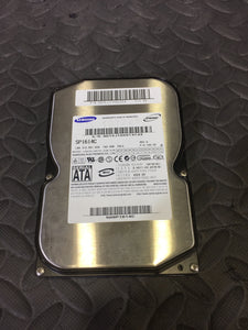 "Samsung SP1614C 3.5"" SATA 7200RPM 8MB Cache 160GB HDD Caution Status - AsIsStuff"