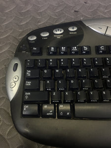 Logitech Cordless Keyboard + Mouse + Reciever