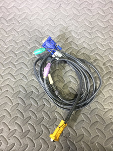 10 Foot Aten VGA to PS/2 KVM Connection Cable - AsIsStuff