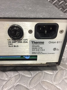 Thermo Orion 611 Electric Compensator - AsIsStuff