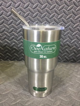 SeeNature 30oz Double Walled Stainless Steel Vacuum Insulated Tumbler - AsIsStuff