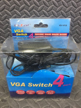 Linxcell 4 to 1 VGA Switch VS-141A - AsIsStuff
