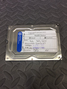 "Western Digital WD3200AAKX 3.5"" SATA 7200RPM 16MB Cache 320GB HDD Caution Status - AsIsStuff"