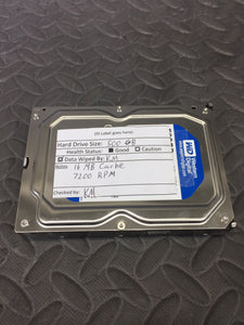 "Western Digital WD5000AAKX 3.5"" 7200RPM 16MB Cache 500GB HDD Tested Good! - AsIsStuff"