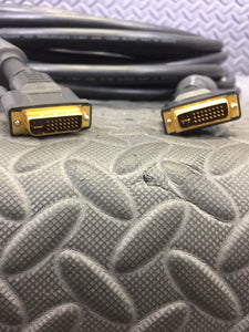 50 Foot DVI-I to DVI-I Gold Plated Cable - AsIsStuff