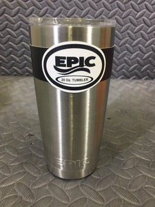EPIC Double Walled Vacuum Insulated Tumbler With 2 Lids - AsIsStuff