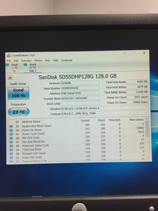 "SanDisk Ultra Plus SDSSSHP-128G 2.5"" SATA 128GB SSD Tested Good! - AsIsStuff"