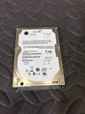 "Seagate ST9128022AS 2.5"" SATA 5400RPM 8MB Cache 120GB HDD Tested Good!"