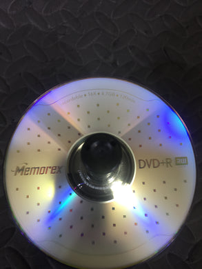 Lot of 59 Unused Memorex DVD+R 4.7GB Data Disks W/ Case!