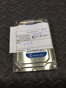 "Western Digital WD1600AAJS 3.5"" SATA 7200RPM 8MB Cache 160GB HDD Tested Good! - AsIsStuff"