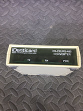 IDenticard F55-485/CONV RS232/RS-485 Converter PARTS ONLY - AsIsStuff