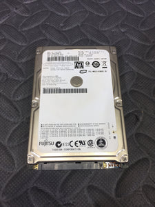 "Fujitsu MHZ2160BH G1 2.5"" SATA 5400RPM 8MB Cache 160GB HDD Wiped & Tested - AsIsStuff"