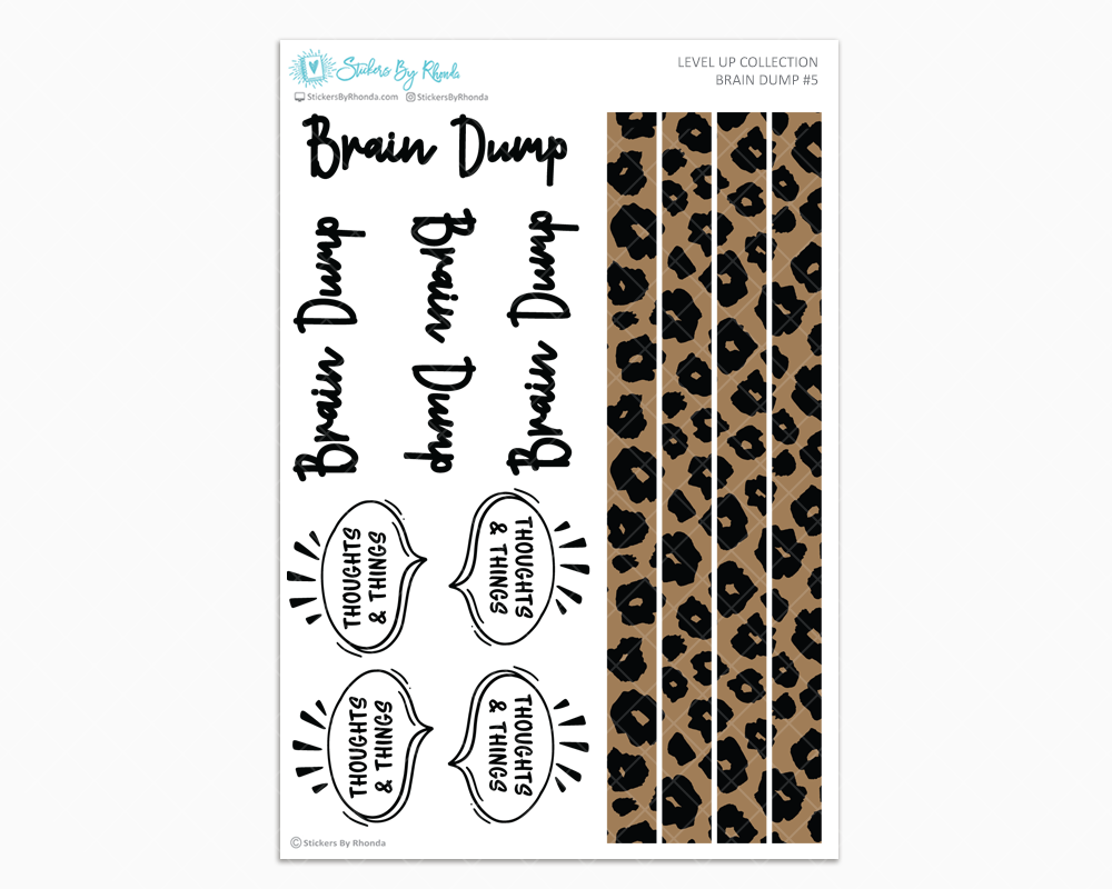 Brain Dump Kit #5 - Level Up Collection