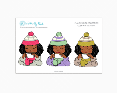 Tina -  Limited Edition - Cozy Winter - Planner Girl Collection