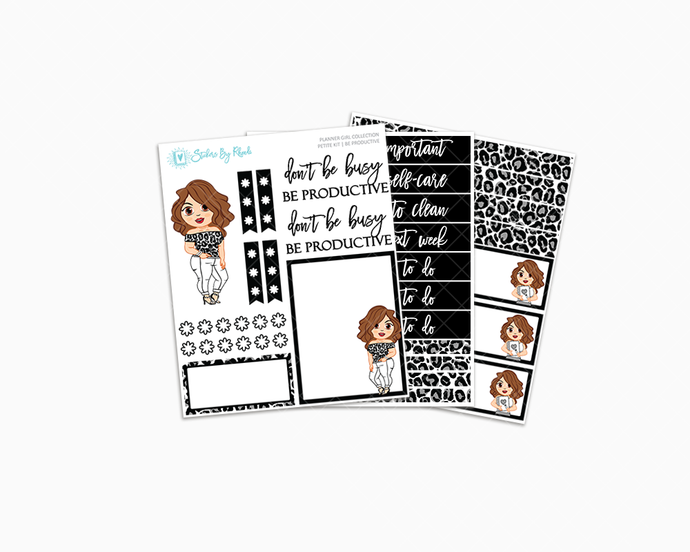 Amanda - Be Productive - Petite Kit - Planner Girl Collection