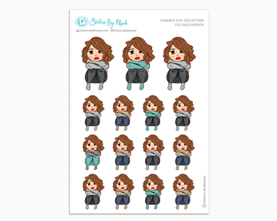Amanda - Feelings Happen - Planner Girl Collection - Planner Stickers