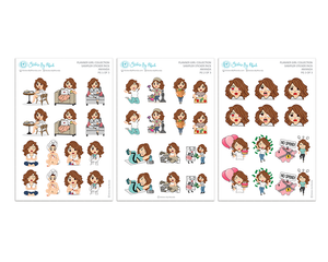 Amanda - Sampler Sticker Pack - Planner Girl Collection