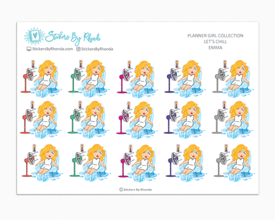 Emma  - Let's Chill - Planner Stickers