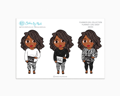 Jackie -  Limited Edition - Planner Girl Sassy - Planner Girl Collection