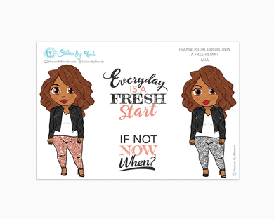 Mia - Limited Edition - A Fresh Start - Planner Girl Collection